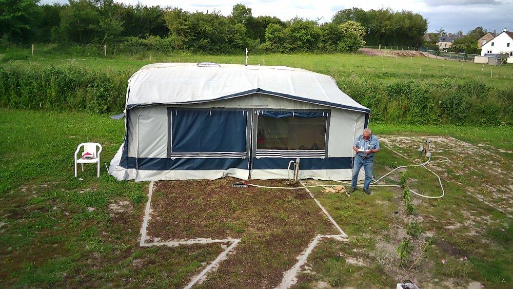Aire camping-car à Créances (50710) - Photo 2